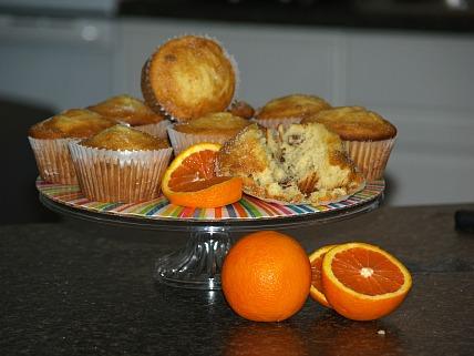 Pecan Orange Muffins