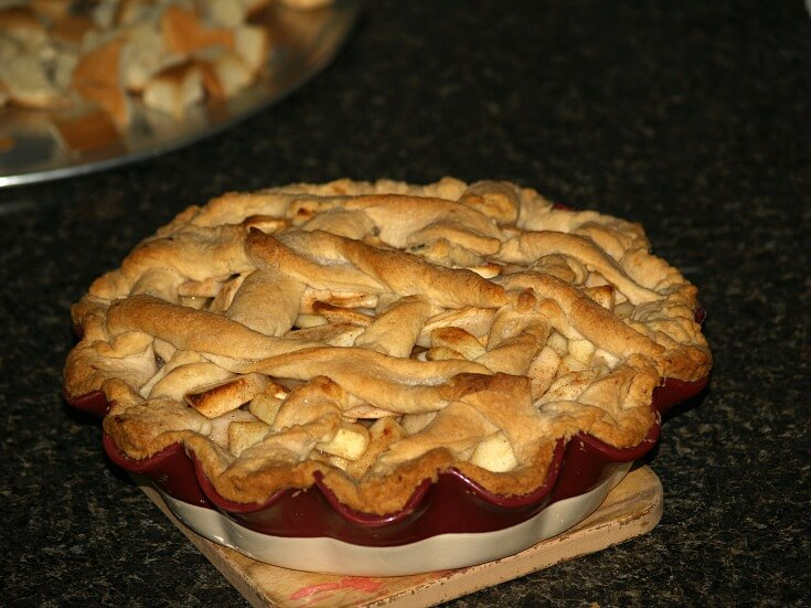 Four Pie Apple Pie