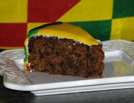 piece of black cake recipe