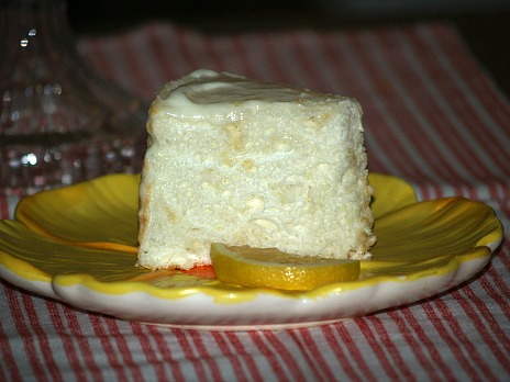 lemon angel food cake recipe