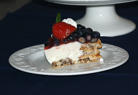 Piece Spanish Yogurt Cream Dessert