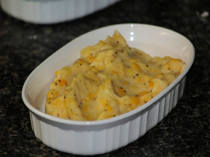 Potato and Cheddar Cheese Filling Mixture