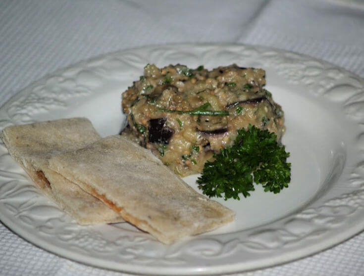 Eggplant Appetizer Recipe
