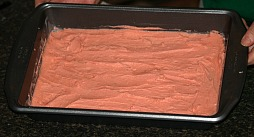Venetian Pink Dough Ready for Oven