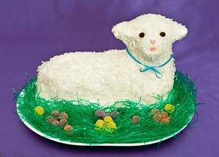 Lamb cake is a Polish easter recipe