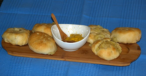 My favorite Appetizer Potato Knishes