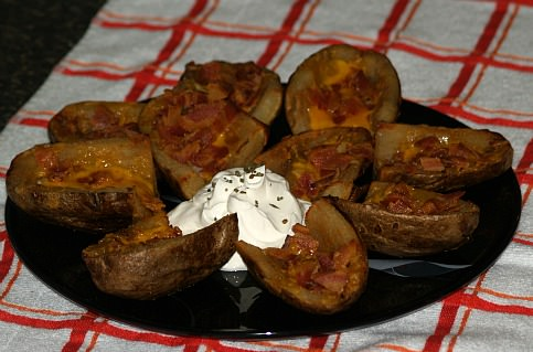 How to Make Potato Skin Appetizer