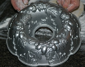 Bundt Pan used for Potica Cake