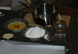 making puff pastries