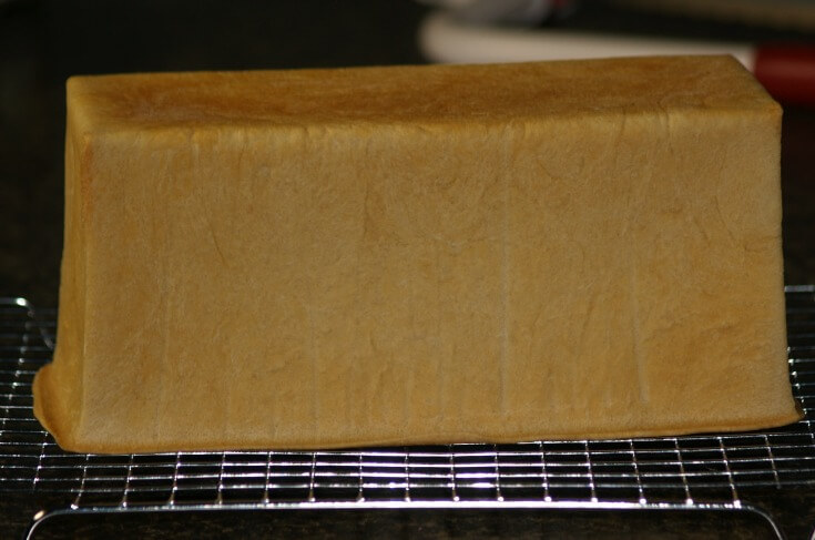 White Pullman Bread Loaf