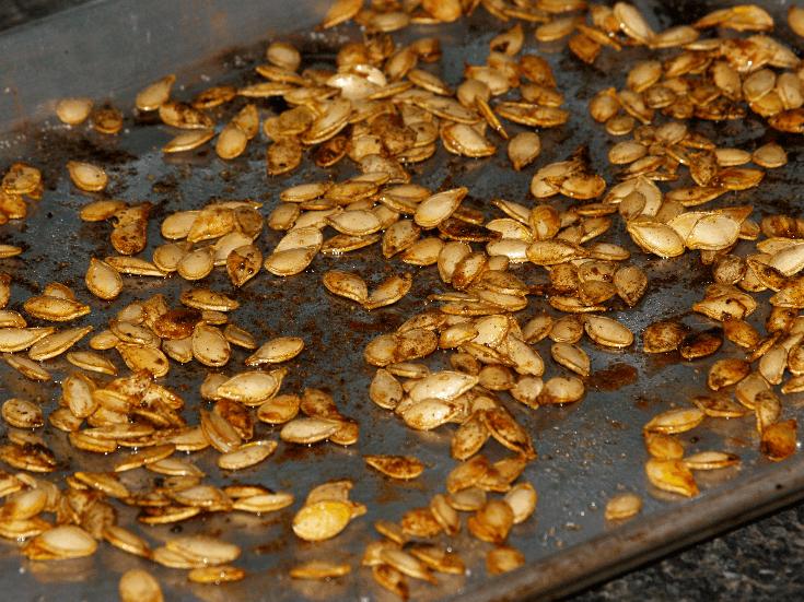 Baked Pumpkin Seeds