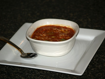 Tomato Rice Soup Recipe