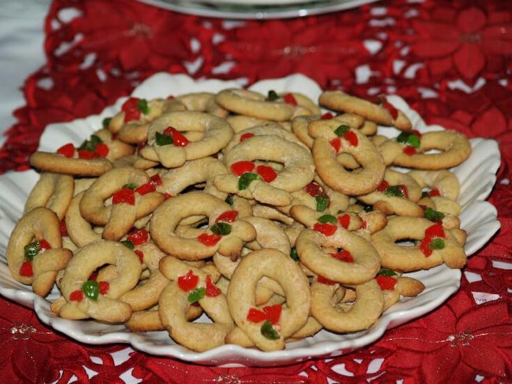 Berliner Kranse Cookies