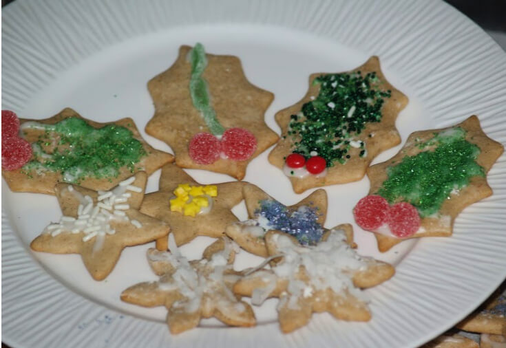 Swedish Pepparkakor Cookies