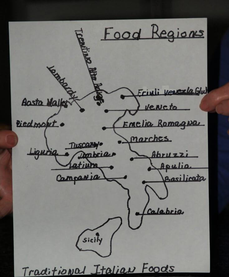 Food Regions of Italy