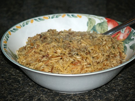 Homemade Rice a Roni Recipe for Cheap Meals