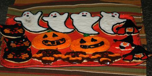 Rolled Halloween Sugar Cookies