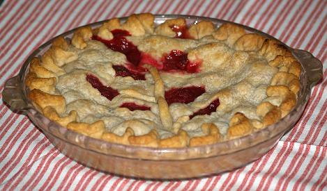 Rosy Raspberry Pie