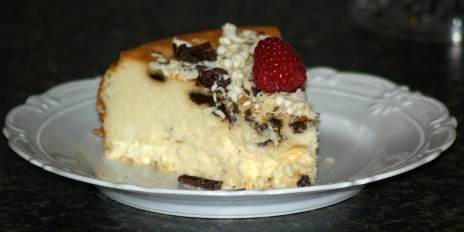 no crust rum cheesecake recipe