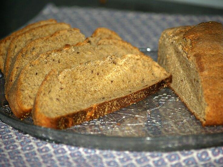 Round Rye Bread Recipe