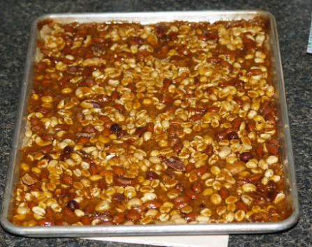 Uncut Salted Nut Bars