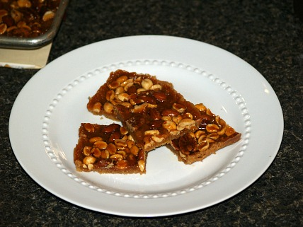 Salted Nut Bars