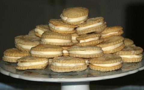 Sandwich Cremes Cookie Recipe