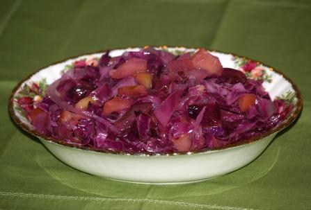 Sauteed Red Cabbage Recipe