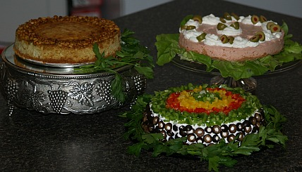 how to make savory cheesecake recipes
