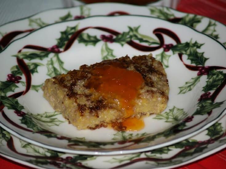 Scrapple Recipe with Tomato Preserves