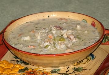 how to make a seafood chowder recipe