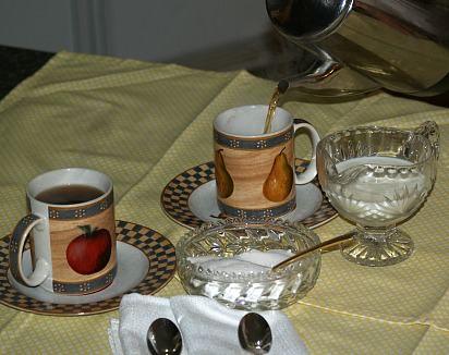Serving Regular Coffee