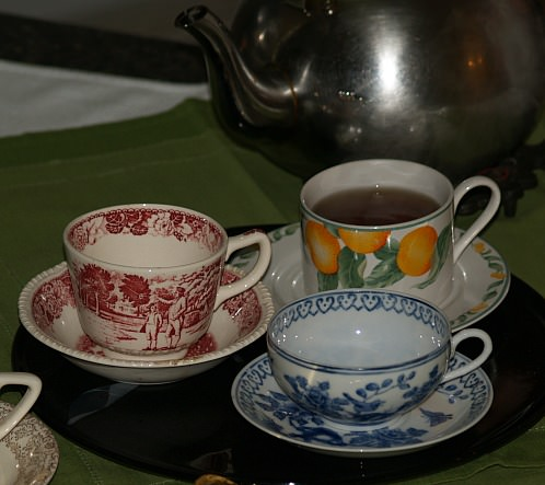 Simple Cups of Hot Tea