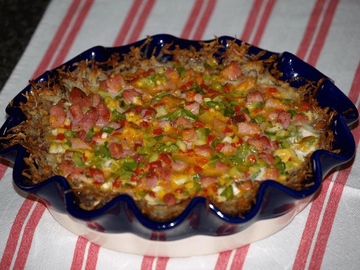 Shredded Potato Bake Recipe
