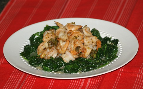 How to Make Seafood Recipes like Shrimp and Spinach