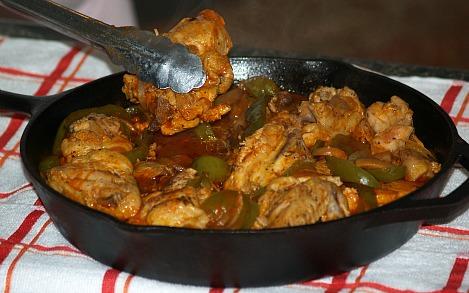 easy skillet fried chicken recipe