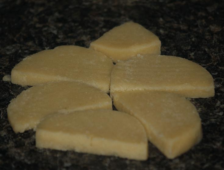 Christmas Tree Shape Slice Cookies