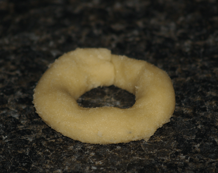 Wreath Shape Slice Cookie