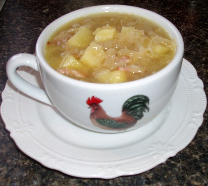 How to Make Sauerkraut Soup Recipe