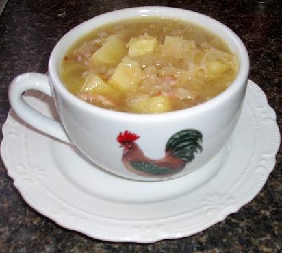 How to Make Sauerkraut Soup Recipe