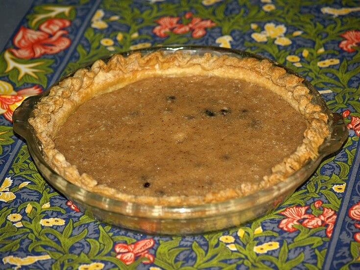 Sour Cream Raisin Pie Recipe