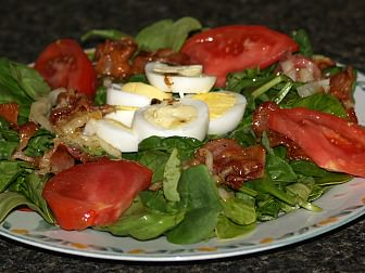 How to Make Spinach Salad Recipe