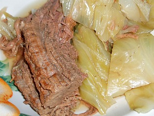 Beef Brisket and Cabbage Recipe