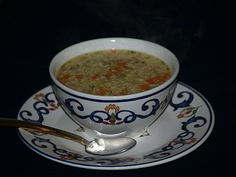 Italian Wedding Soup or Stracciatella