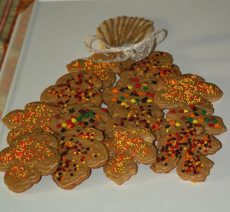 Sugar Cookie Leaves