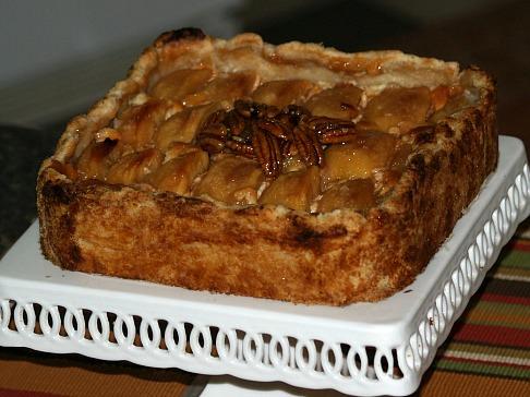 Sugar Free Apple Cheesecake Recipe without Rum Sauce