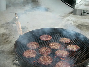 Hamburgers on the grill make great summer recipe