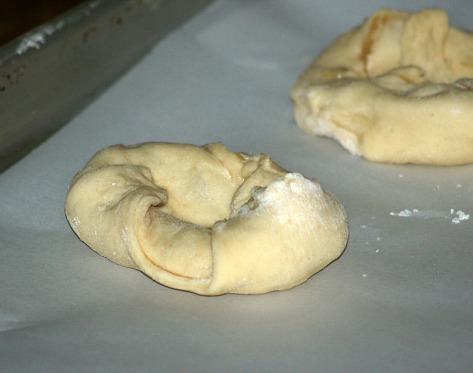Sweet Dough Ring Shape
