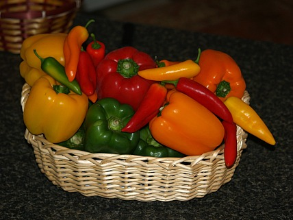 how to make sweet pepper recipes