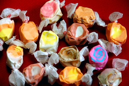 homemade salt water taffy